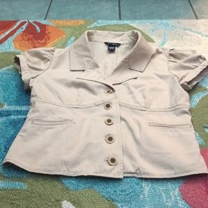 Arden b short sleeve blazer